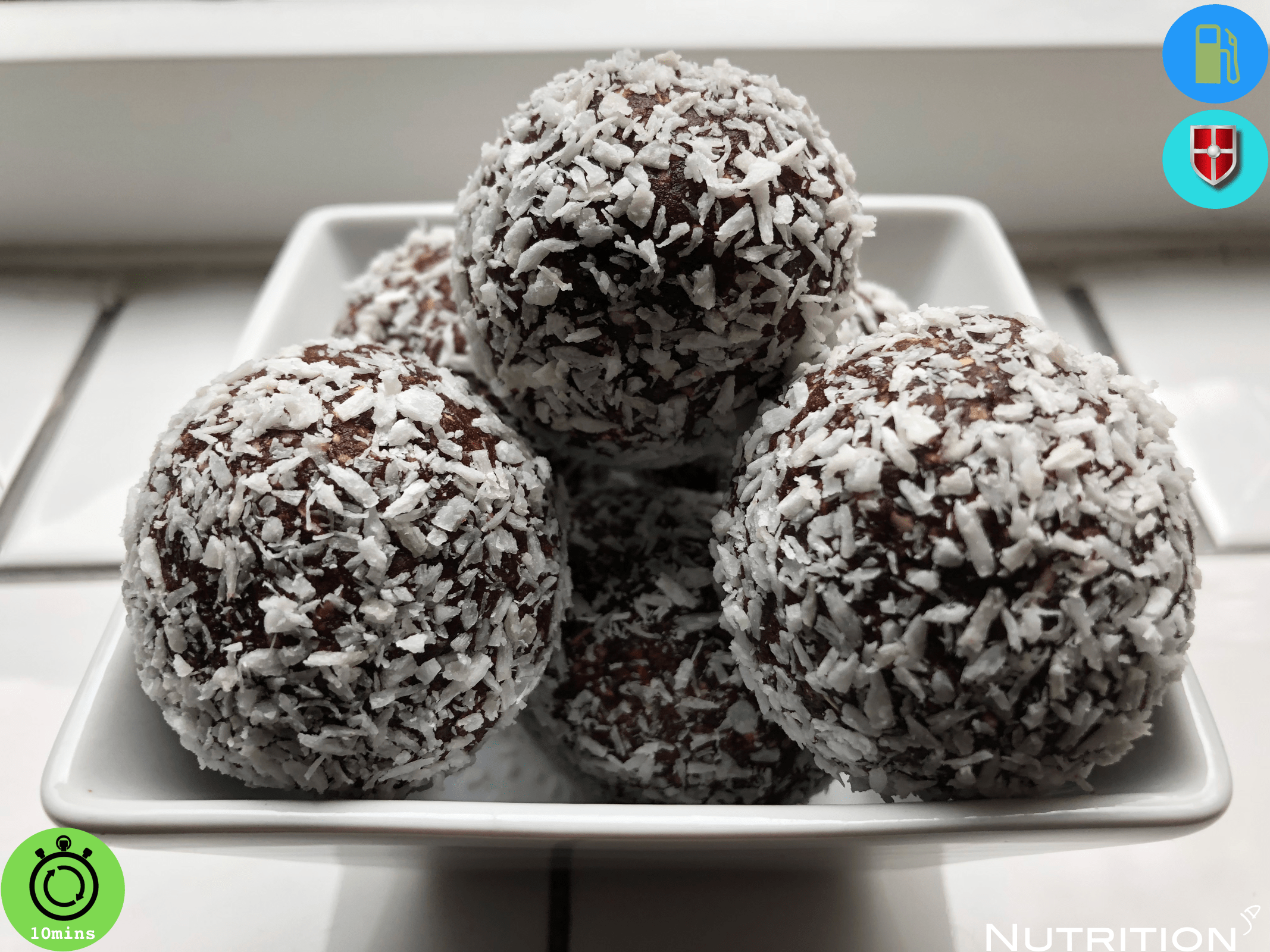 Cacao & Coconut Energy Ball